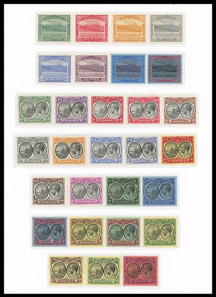 Learned Antigua Fine Used Volume Large 1975 Value Change Overprints