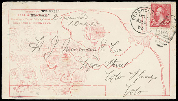 Schuyler J. Rumsey Philatelic Auctions Sale - 82 Page 20 on