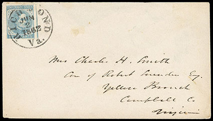 Schuyler J  Rumsey Philatelic Auctions Sale - 85 Page 130