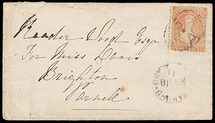 Schuyler J  Rumsey Philatelic Auctions Sale - 87 Page 22